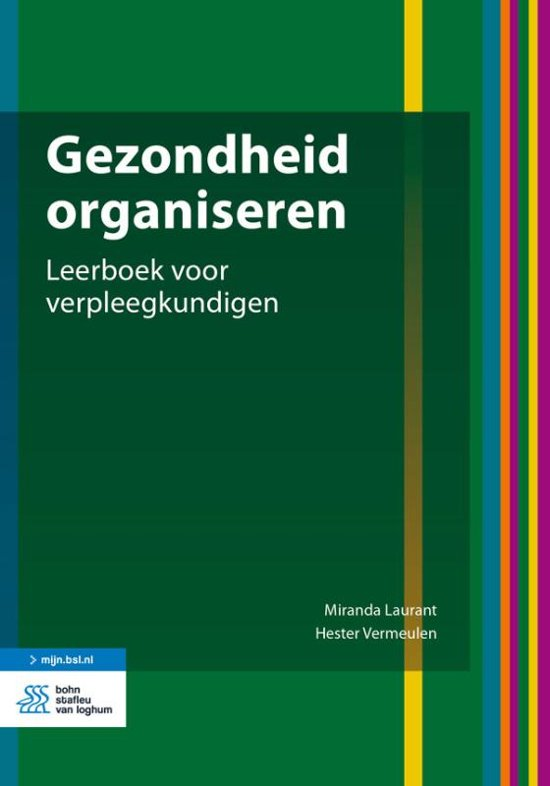 Boek gezondheid organiseren
