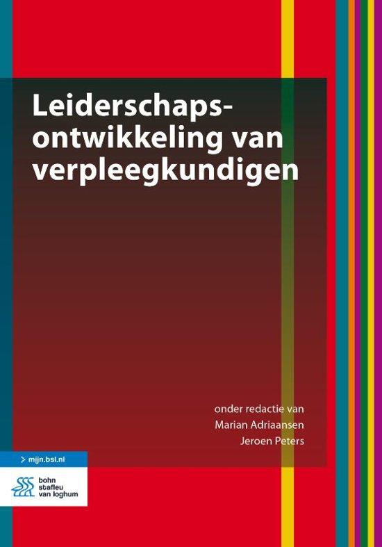 Boek leiderschapsontwikkeling verpleegkundigen